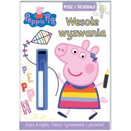 Pisz i Ścieraj. Peppa Pig. Nr 8. Wesołe wyzwania