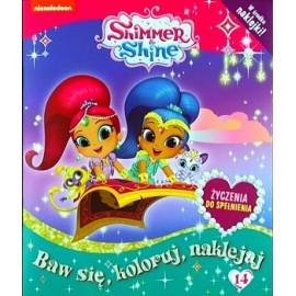 Shimmer & Shine + naklejki nr 14