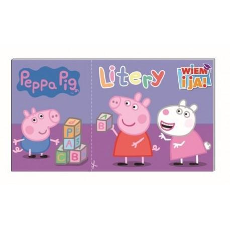 Peppa Pig Wiem i ja! Litery cz.1