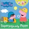 Peppa Pig Opowiadania z naklejkami cz.1 Superpojazdy Peppy