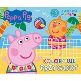 Świnka Peppa Zabawa w kolory 2 Kolorowe