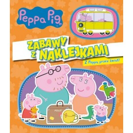 Peppa Pig Zabawy z naklejkami 4 Z Peppą przez świat
