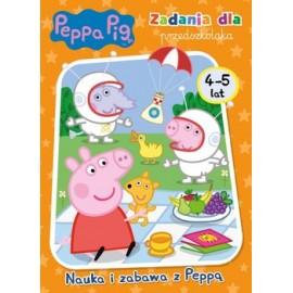 Peppa Pig Zadania dla przedszkolaka 4-5