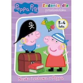 Peppa Pig Zadania dla przedszkolaka 3-4