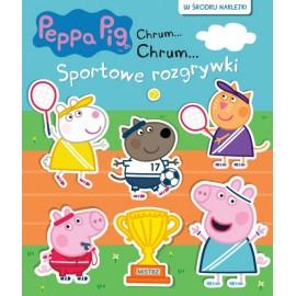Świnka Peppa Książeczka 64 Sportowe rozg