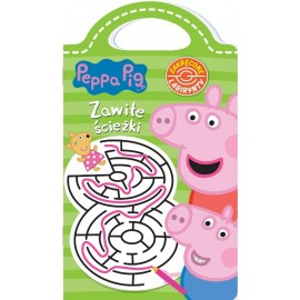 Peppa Pig Zakręcone Labirynty cz. 1 Zawiłe ścieżki