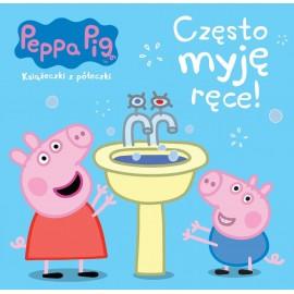 Świnka Peppa Chrum 64 Często myję ręce!