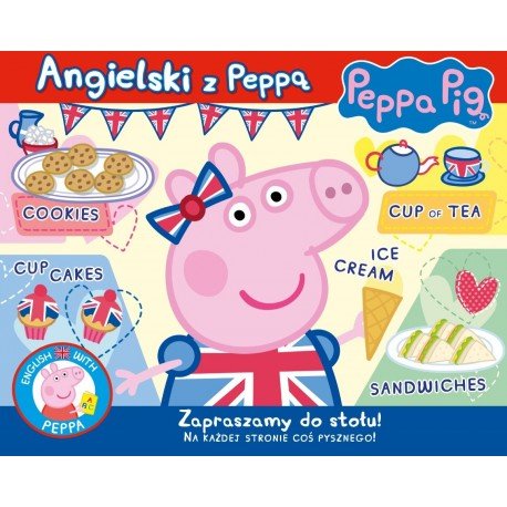 Peppa Pig Angielski z Peppą cz.1 Zapraszamy do stołu