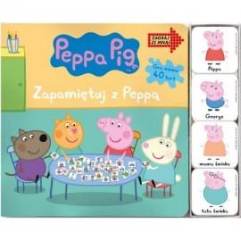 Peppa Pig Zagraj ze mną Zapamiętuj z Peppą