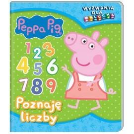 Peppa Pig Wyzwania dla malucha Poznaję liczby