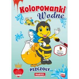 Kolorowanki wodne. Pszczoły