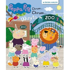 Świnka Peppa Książeczka 65 Wizyta w ZOO