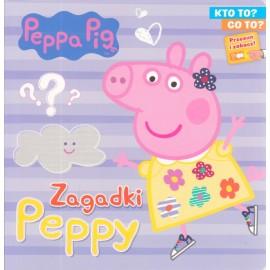 Peppa Pig Kto to? Co to? cz. 1 Zagadki Peppy