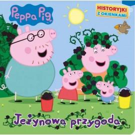 Peppa Pig Historyjki z okienkami Jeżynowa przygoda