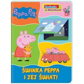 Peppa Pig Zadania w okienkach 1 Świnka P