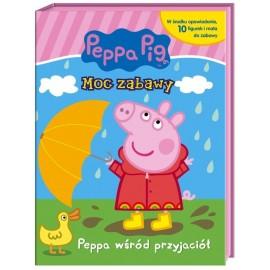 Peppa Moc zabawy Peppa wśród przyjaciół