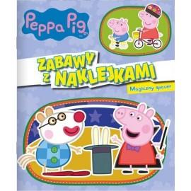 Peppa Pig Zabawy z naklejkami 5 Magiczny spacer