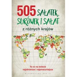 505 sałateksurówek i sałat z różny krajów