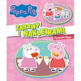 Peppa Pig Zabawy z naklejkami 6 Pyszności Peppy