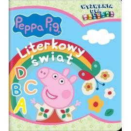 Peppa Pig Wyzwania dla malucha 4 Literkowy świat