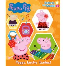 Peppa Pig Zadania na medal 3 Peppa kocha taniec!