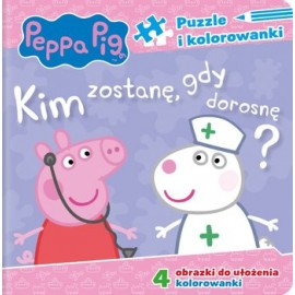 Peppa Pig Puzzle Kim zostanę gdy dorosnę