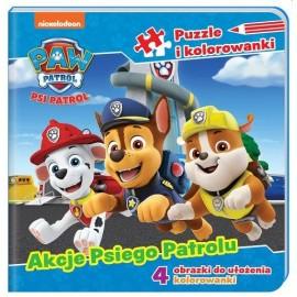 Psi Patrol Puzzle Akcje Psiego Patrolu