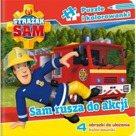 Strażak Sam Puzzle 1 Sam rusza do akcji
