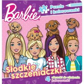 Barbie Puzzle 1 Słodkie szczeniaczki