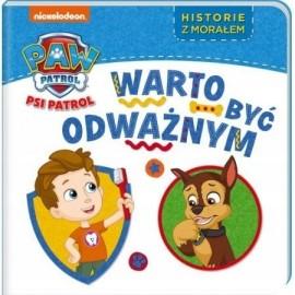 Psi Patrol Historie z morałem 3 Warto być odważnyn