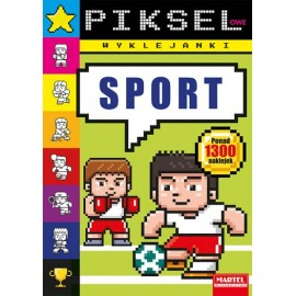 Pikselowe wyklejanki Sport