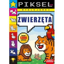 Pikselowe wyklejanki Zwierzęta