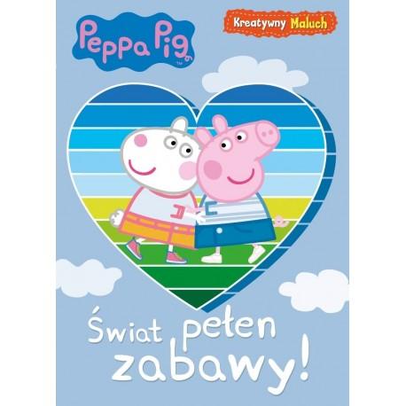 Peppa Pig Kreatywny maluch cz.1 Świat pełen zabawy!
