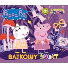 Świnka Peppa Zabawa w kolory Bajkowy