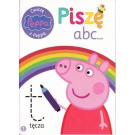 Świnka Peppa. Ćwiczę z Peppą. Piszę a, b, c