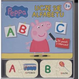 Świnka Peppa. Uczę się alfabetu ABC