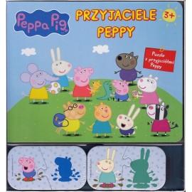 Puzzle Peppa Pig Przyjaciele Peppy