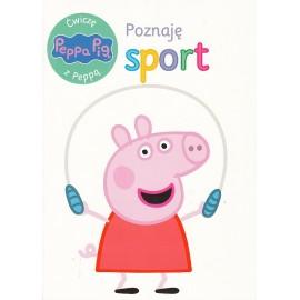 Świnka Peppa. Ćwiczę z Peppą. Poznaję sport