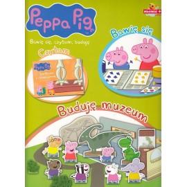 Peppa Pig. Bawię się, czytam, buduję. Buduję muzeum