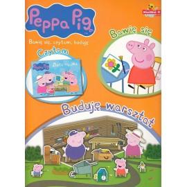 Peppa Pig. Bawię się, czytam, buduję. Buduję warsztat