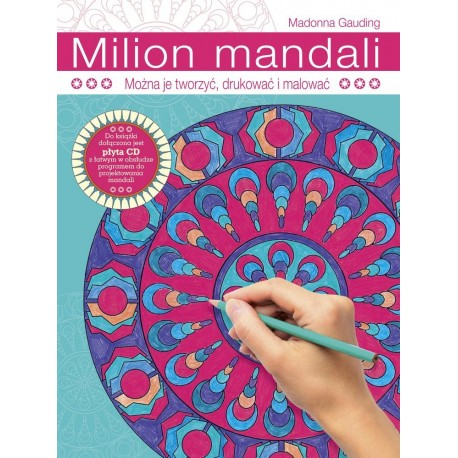 Milion mandali. Można je tworzyć, drukować i malować