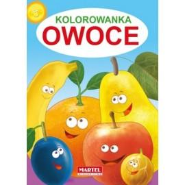 Kolorowanka Owoce